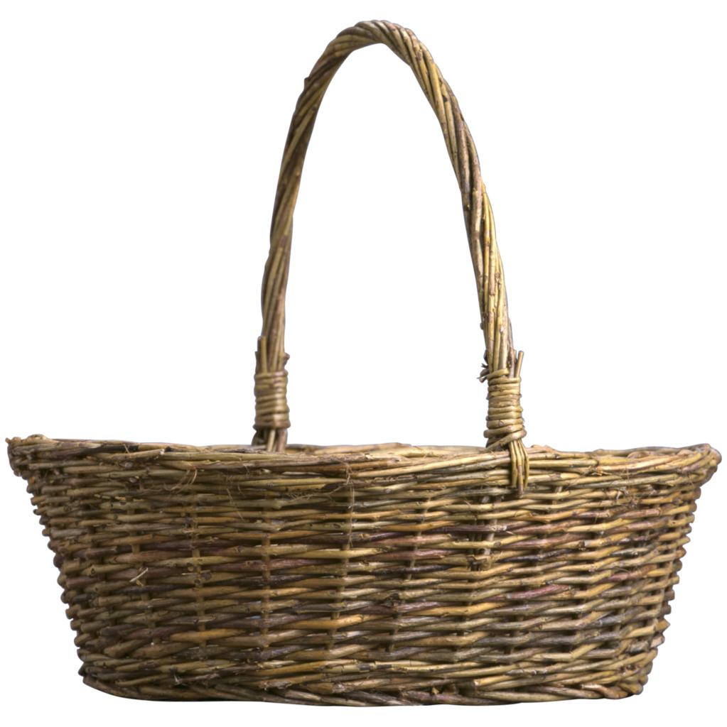 Como hacer cestos de mimbre como se puede observr en la foto tomada de wikimedia las ramas se - Decorar cestas de mimbre paso a paso ...