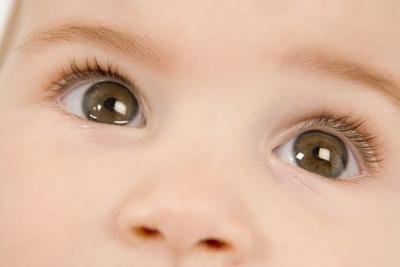 Cor Dos Olhos Cor Dos Olhos de um Bebê
