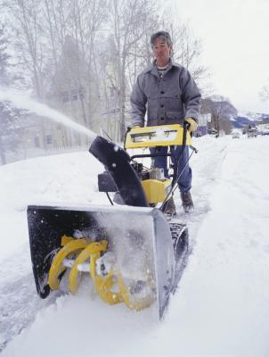Pull Cord Broken on a Troy-Bilt Snow Blower | Home Guides ...