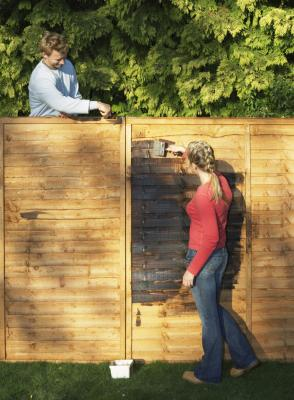 How To Cover An Ugly Backyard Fence Home Guides Sf Gate