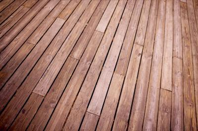 how to sand a wooden deck home guides sf gate. Black Bedroom Furniture Sets. Home Design Ideas