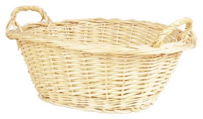 C mo cultivar una planta de interior en una cesta de for Como aprovechar una cesta de mimbre