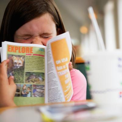 C mo crear una revista para un proyecto escolar ehow en for Proyecto para una cantina escolar