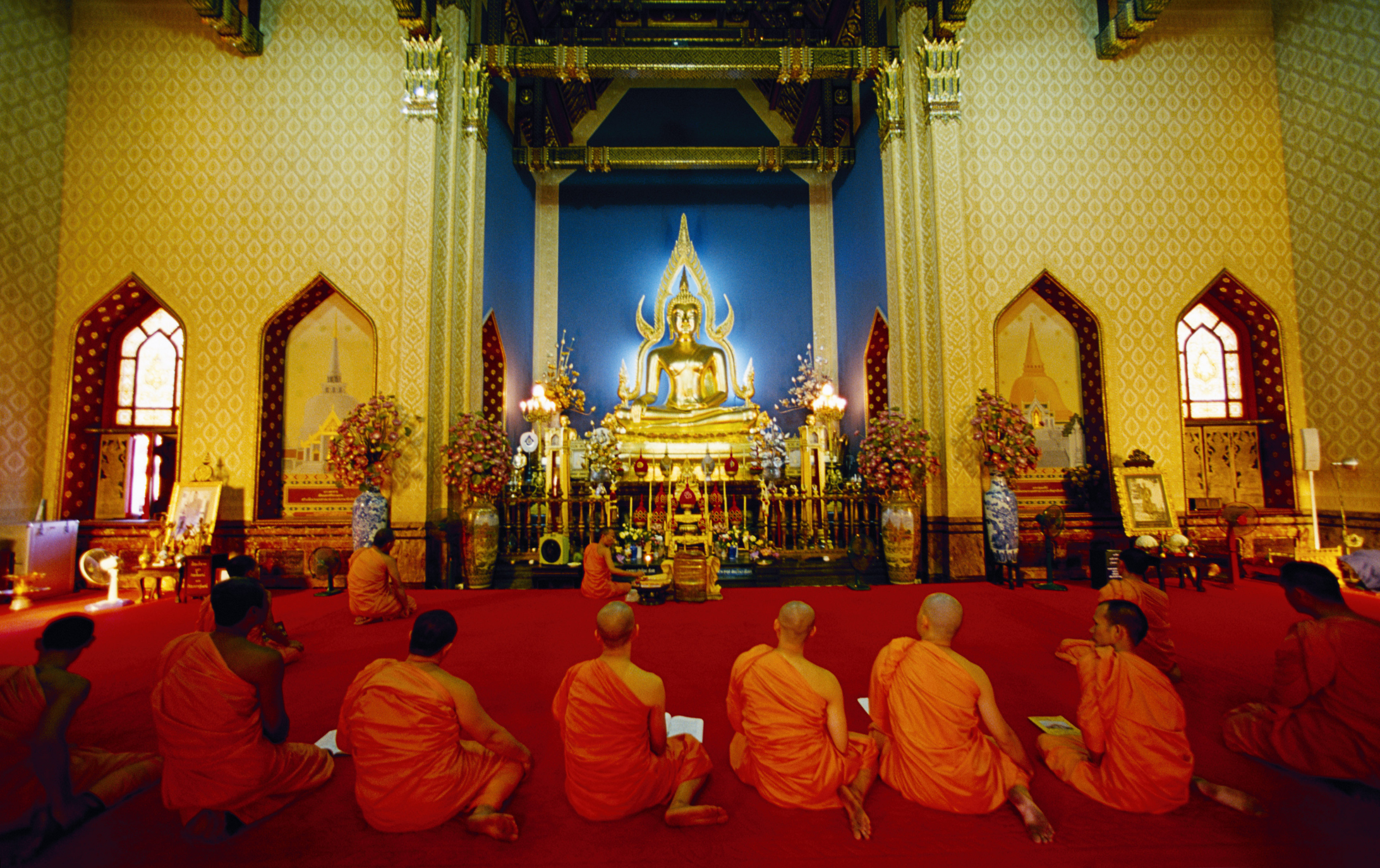 Etiquette For Buddhist Monks Synonym