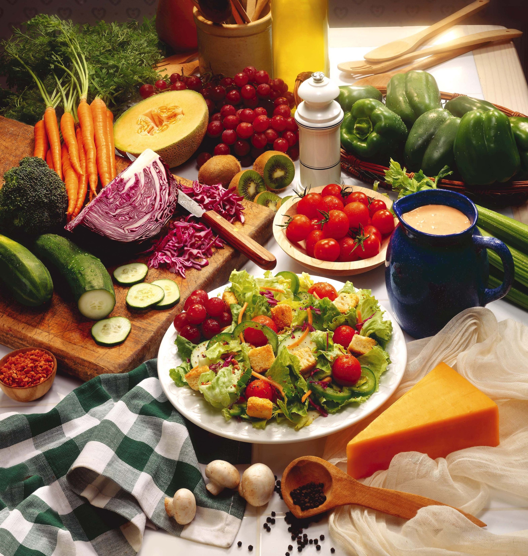 Eat healthy to maintain high nutrient levels in the body.