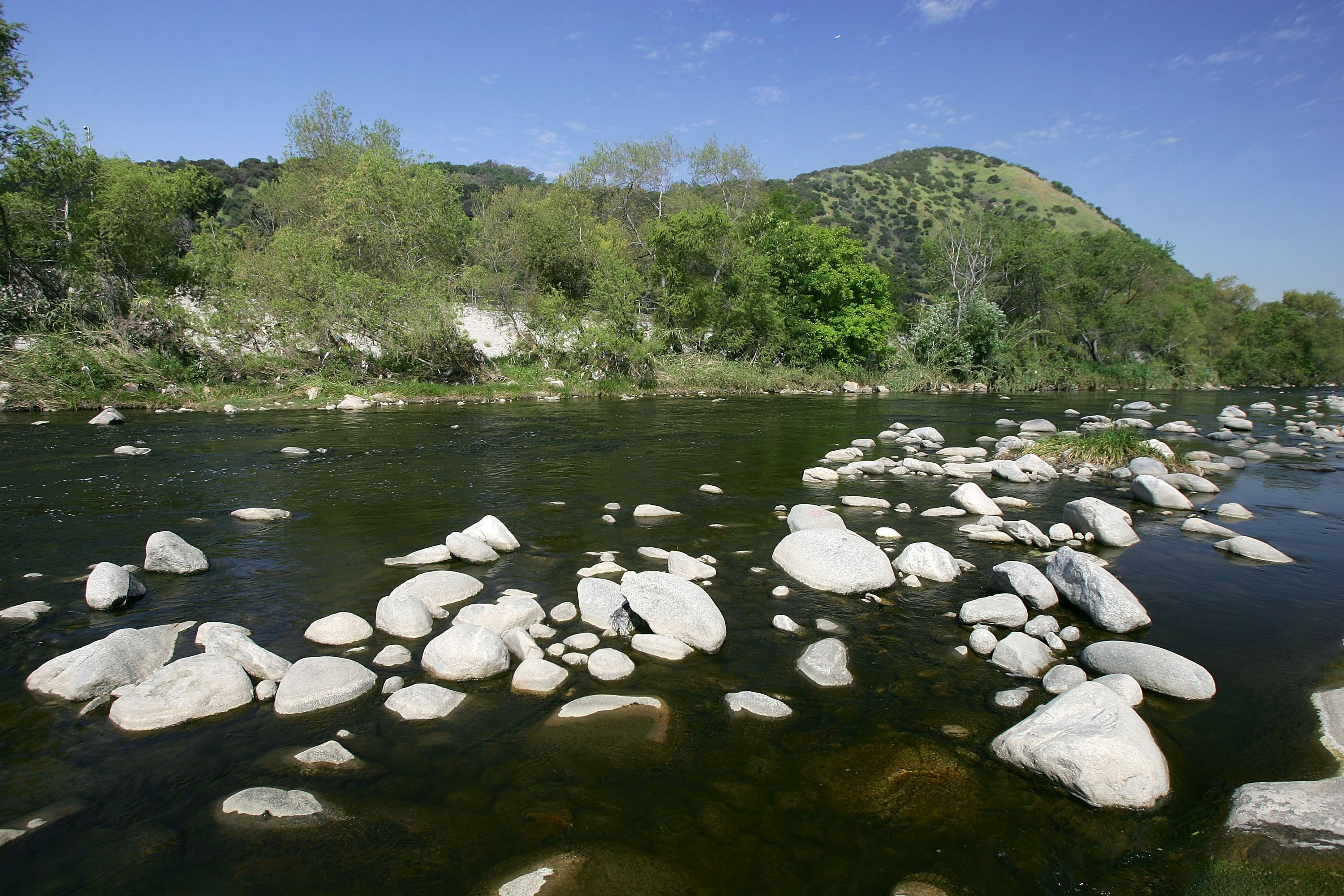 Rivers near claremont ca usa today for Lake fishing near los angeles