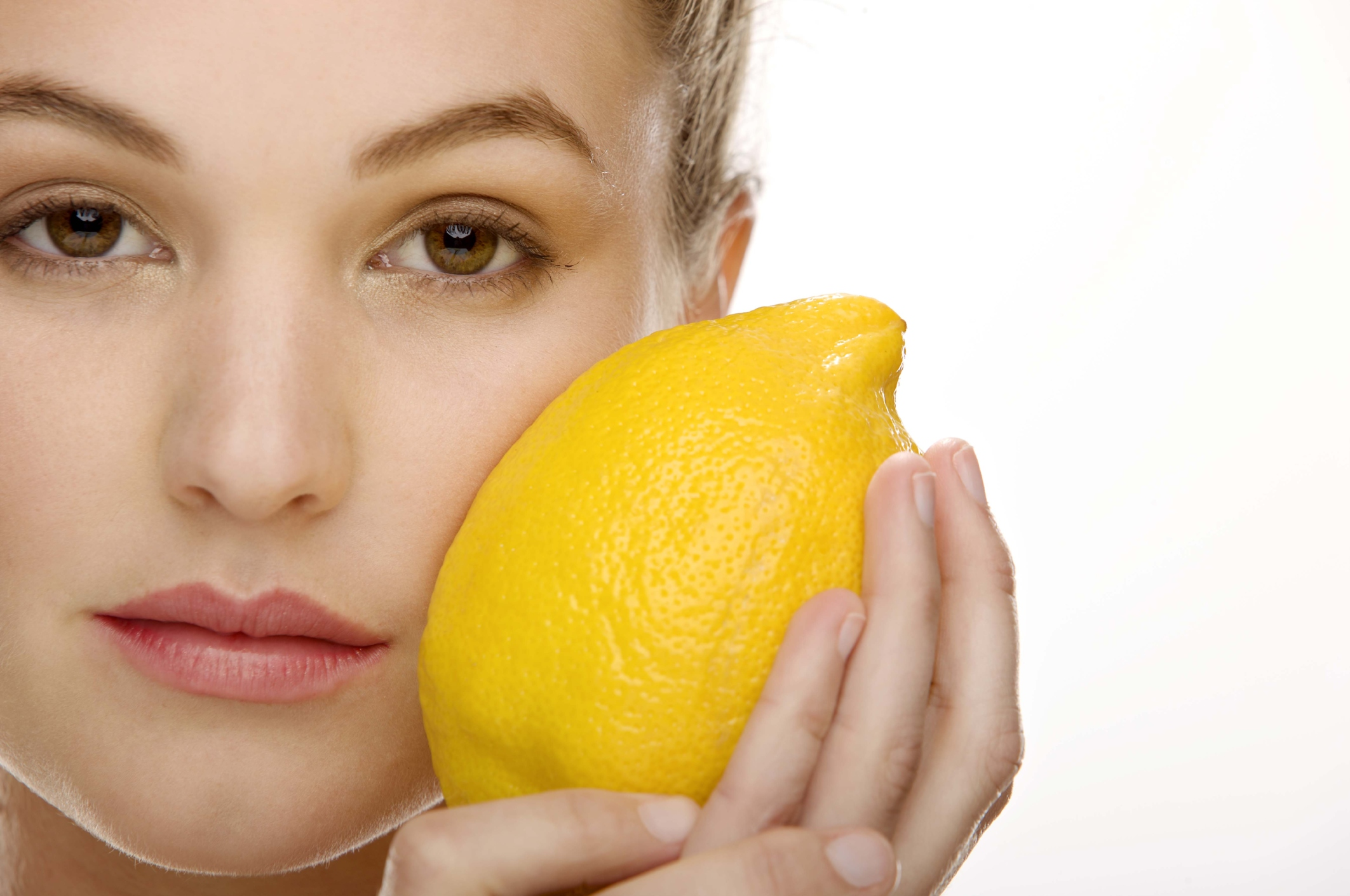 Lemon may be damaging if left on skin too long.
