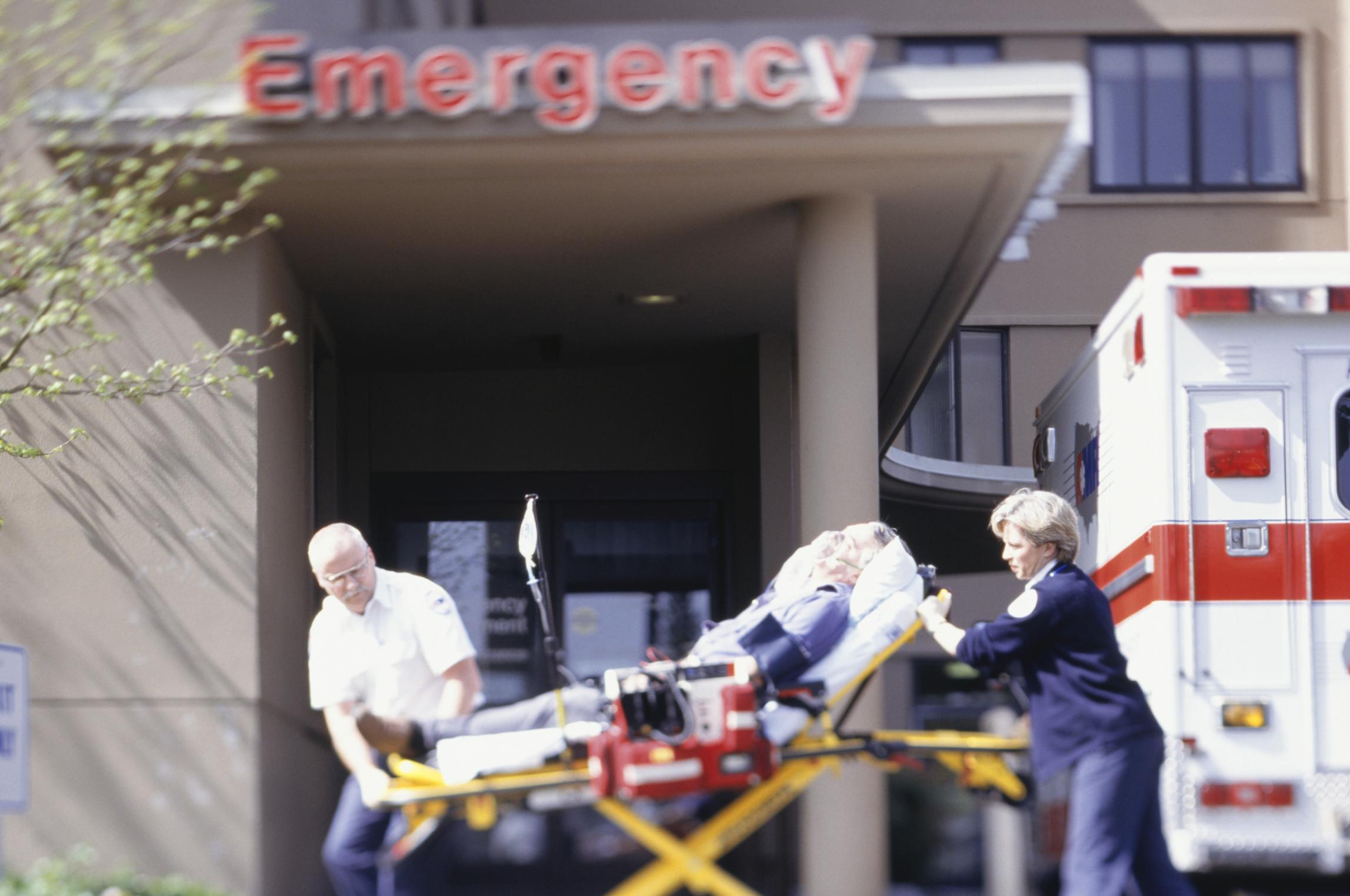 Emergency medical technician and high school