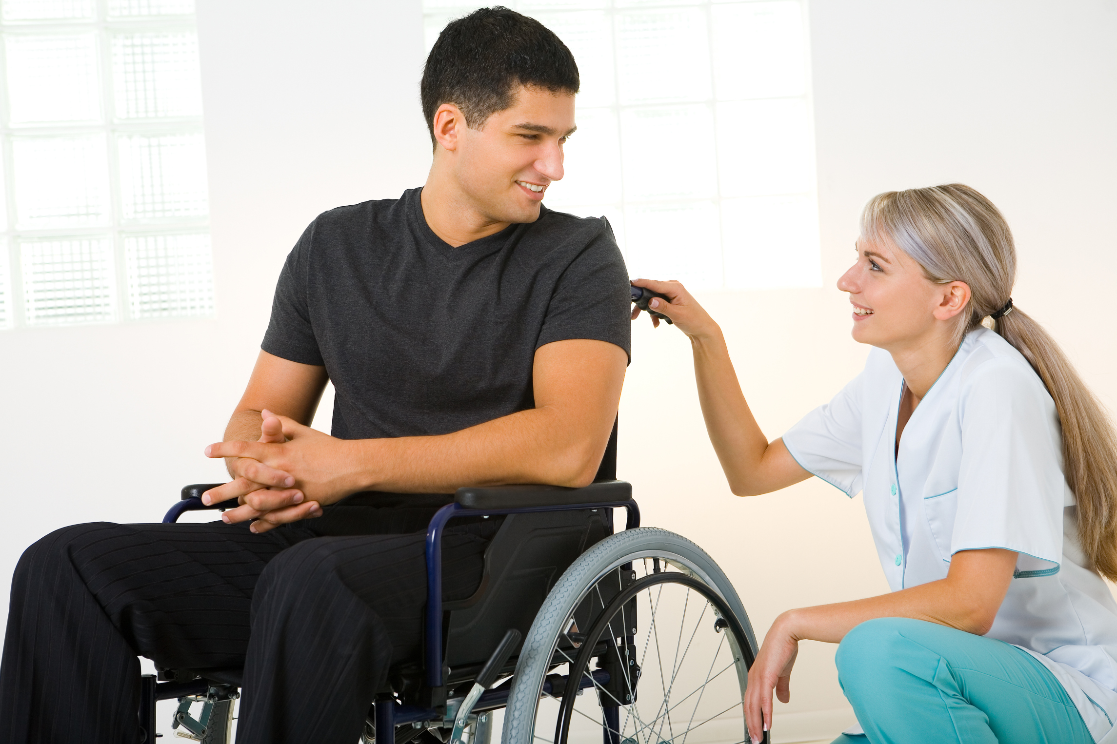 people with disabilities The basics: interacting with people with disabilities some people are uncomfortable talking with people with disabilities this chapter gives you some basic tips to.