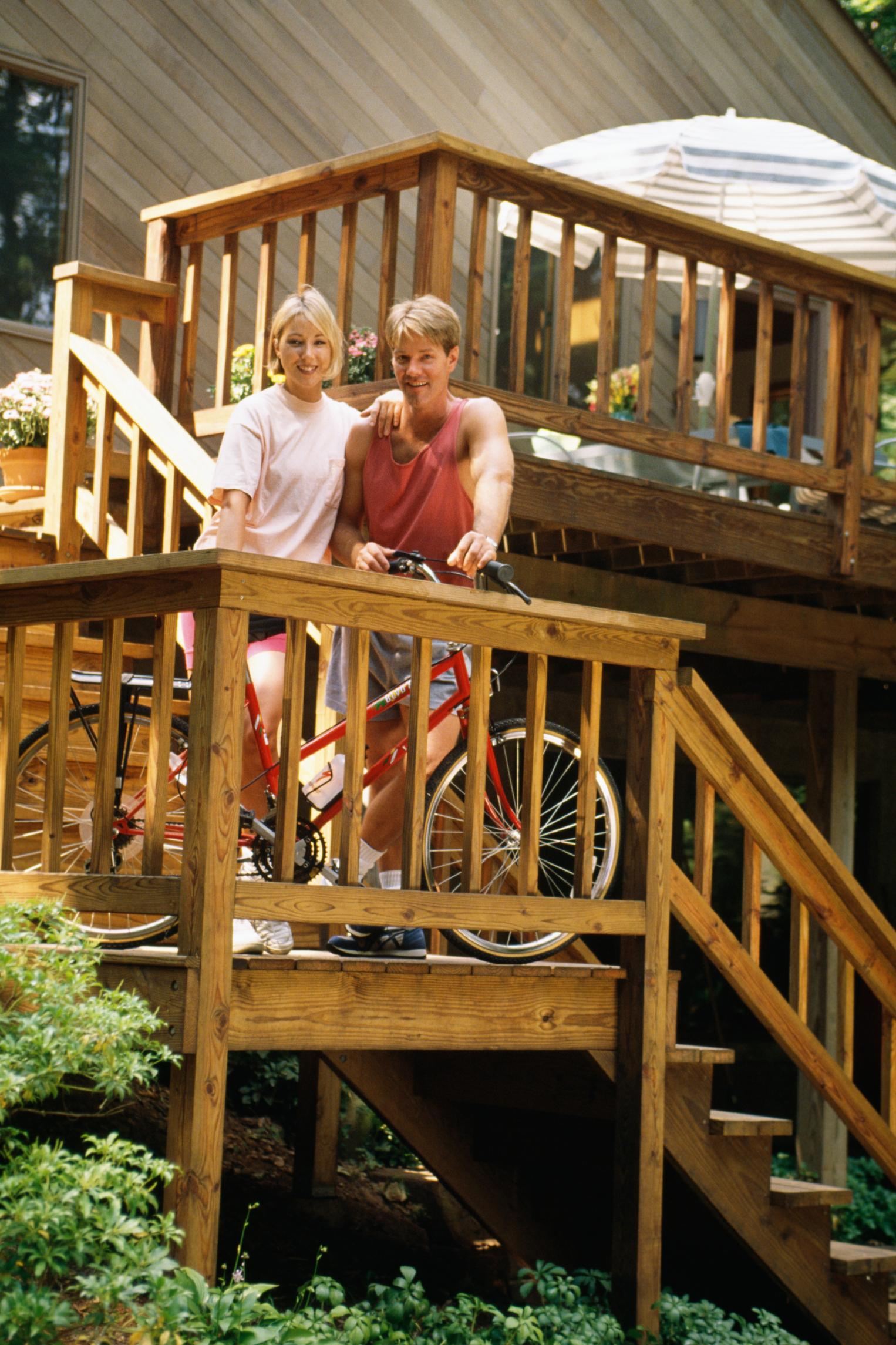 cmo construir una escalera de madera con un pequeo descanso en un ngulo de grados ehow en espaol