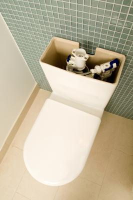how to fix the waterlevel of the toilet