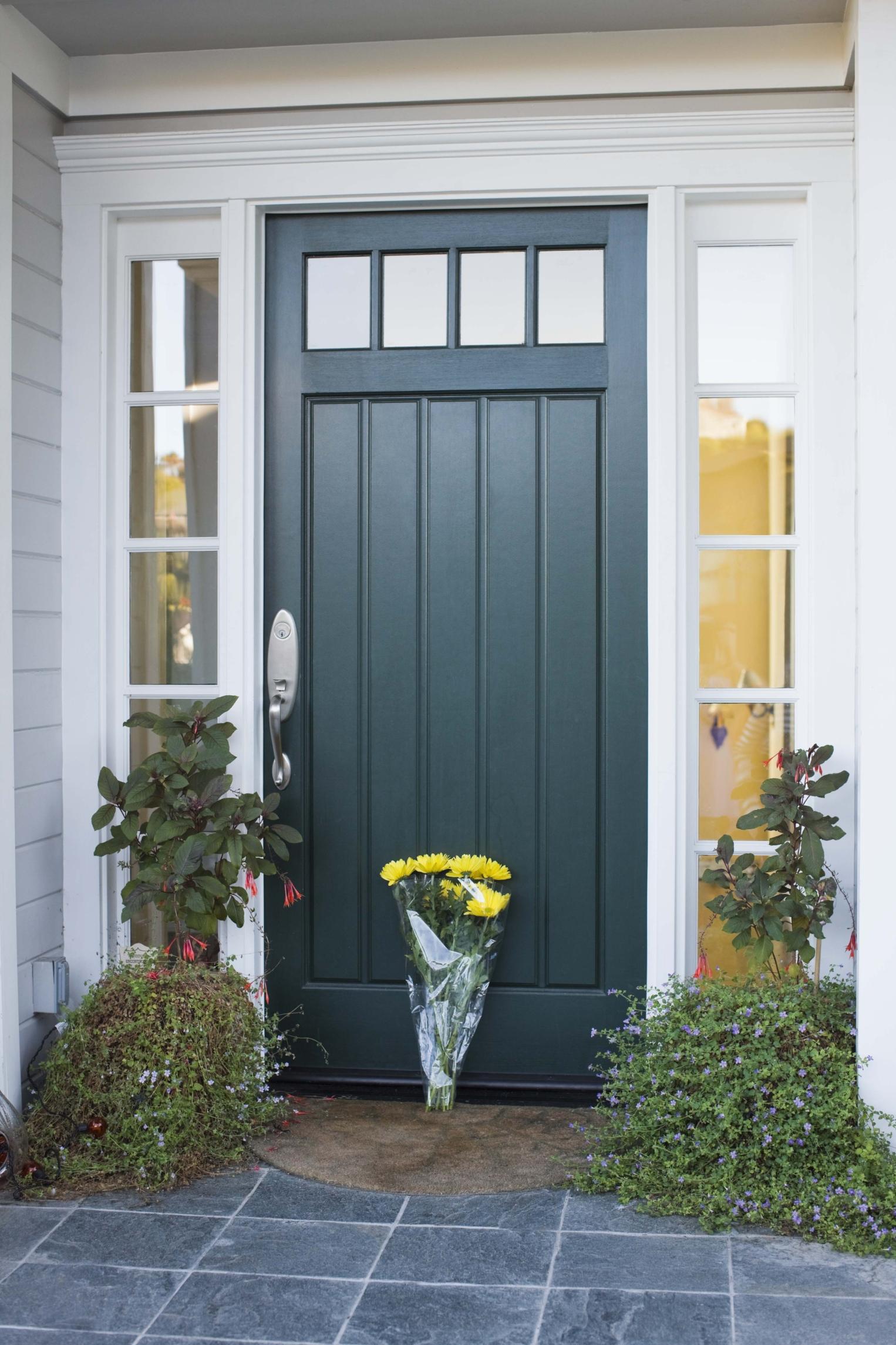 Colores de puertas y casas |