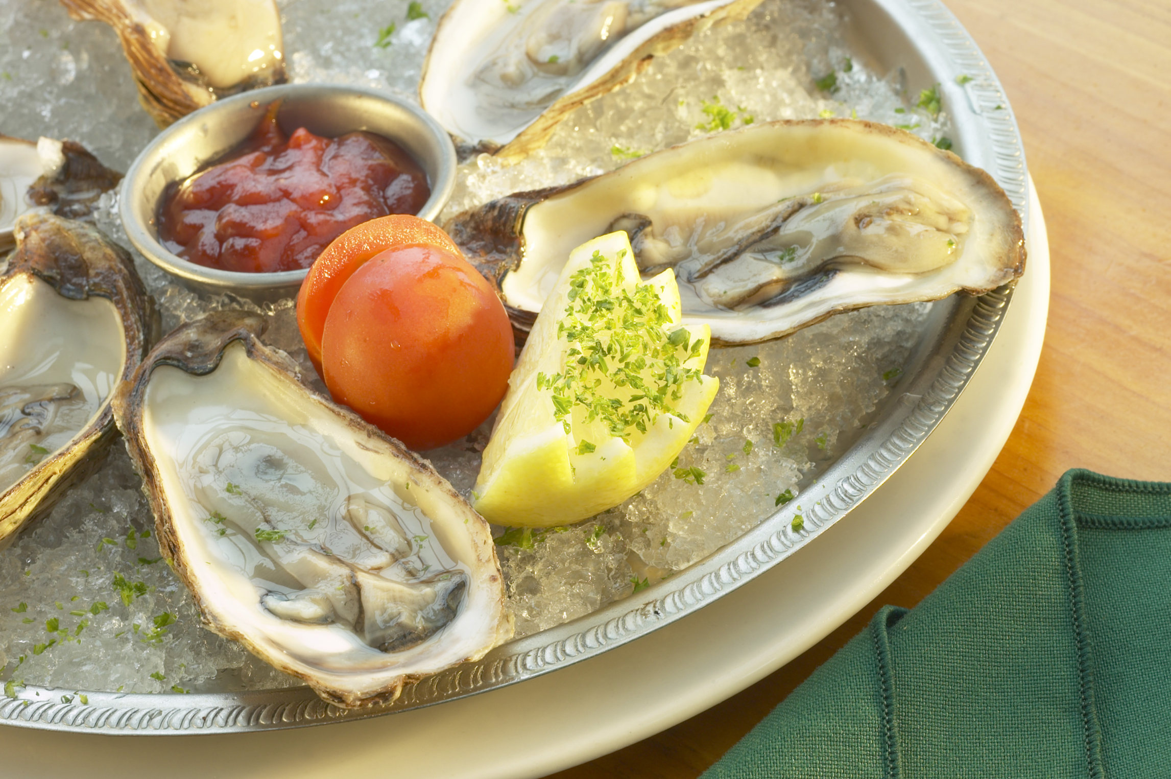 Oysters are the richest dietary source of zinc.