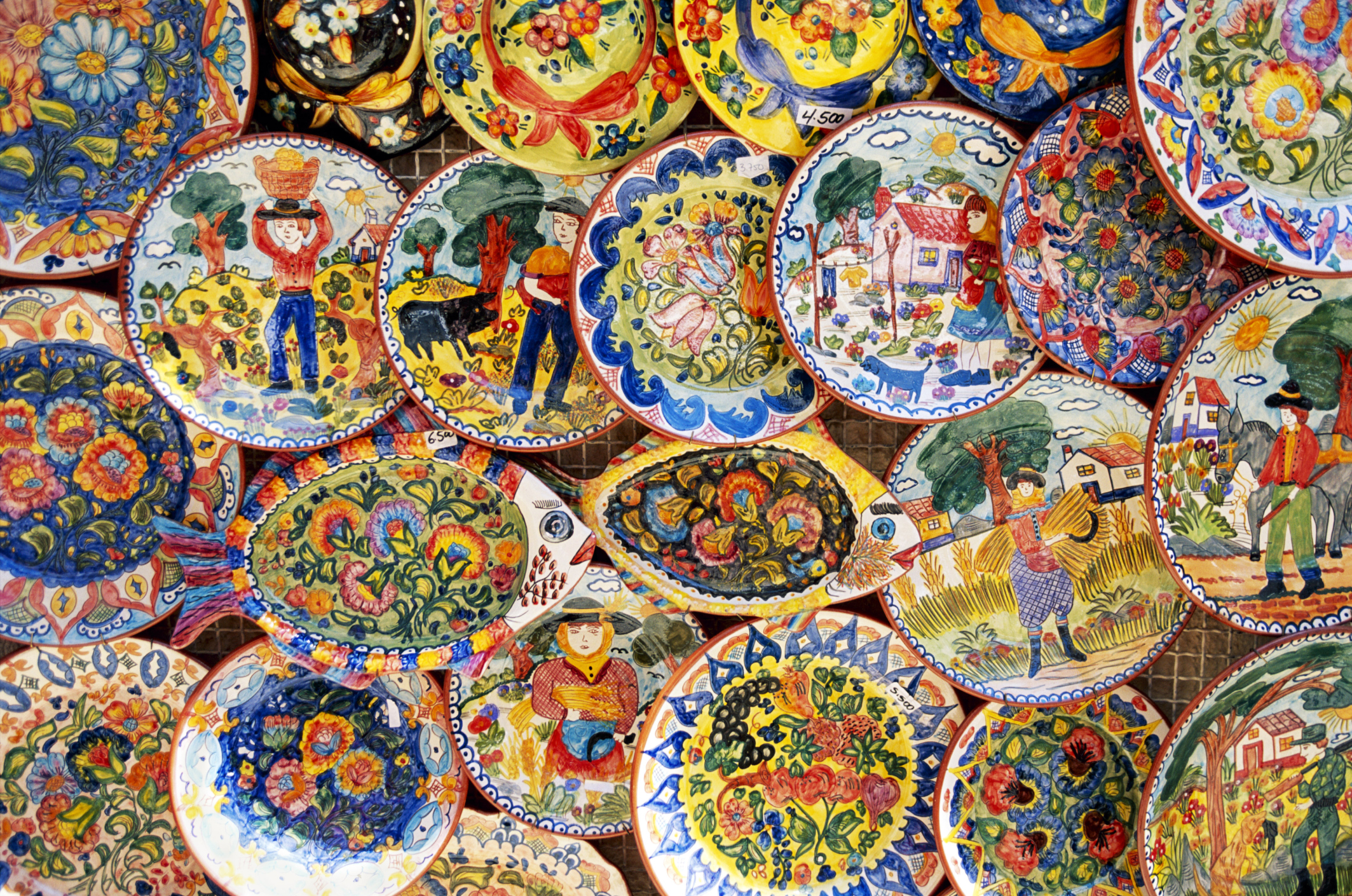 How To Make Hand Painted Ceramic Plates That Are Non Toxic Food Safe Ehow