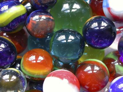 Clay made marbles were when Rediscovering Vintage