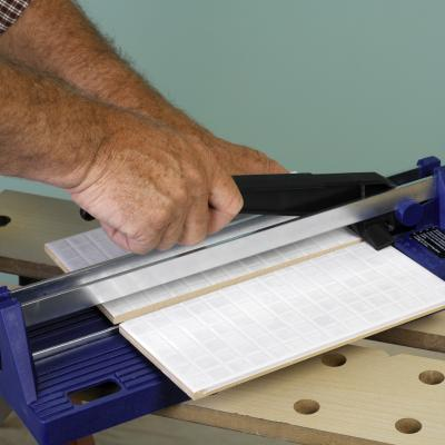 How to cut ceramic tile without a saw