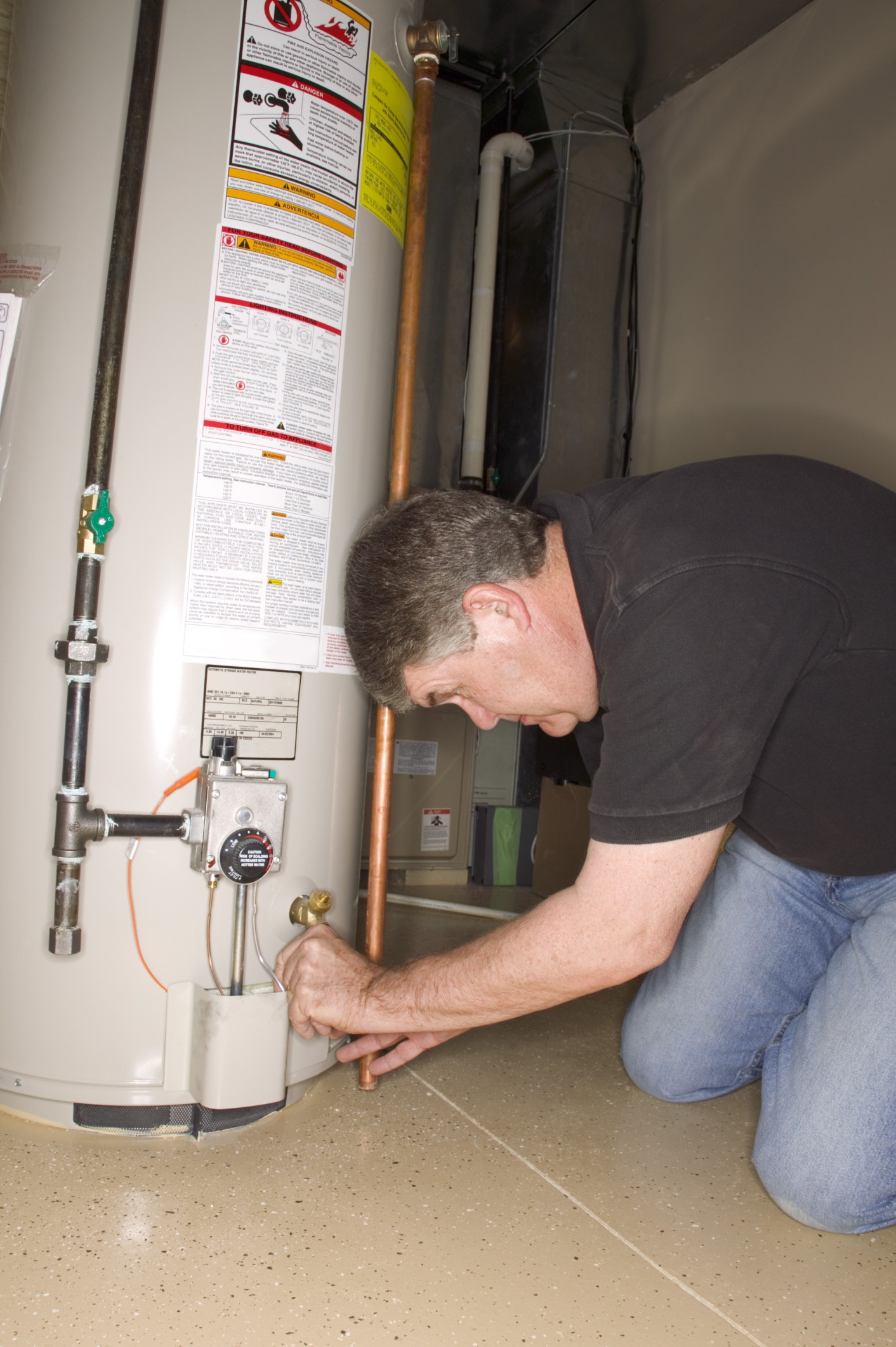How To Light The Pilot For A Gas Hot Water Heater Home