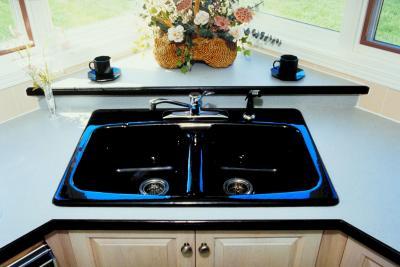 Las desventajas de colocar el fregadero de la cocina en la for Fregadero esquinero