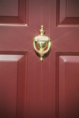 How To Replace A Door Knocker Home Guides Sf Gate