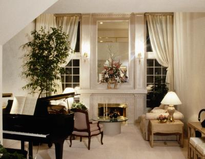 How to arrange a living room with a grand piano home - How can i decorate my small living room ...