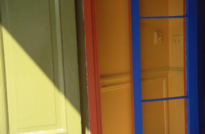 How To Paint Wood Door Frames In Two Colors