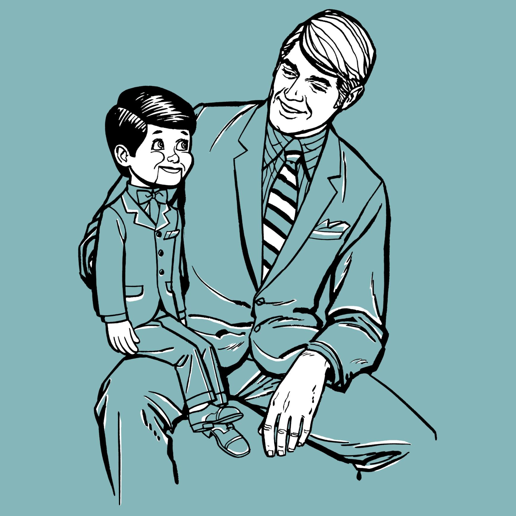 Resultado de imagen para marioneta ventrilocuo