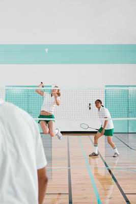 Required ceiling height for badminton for Indoor badminton court height