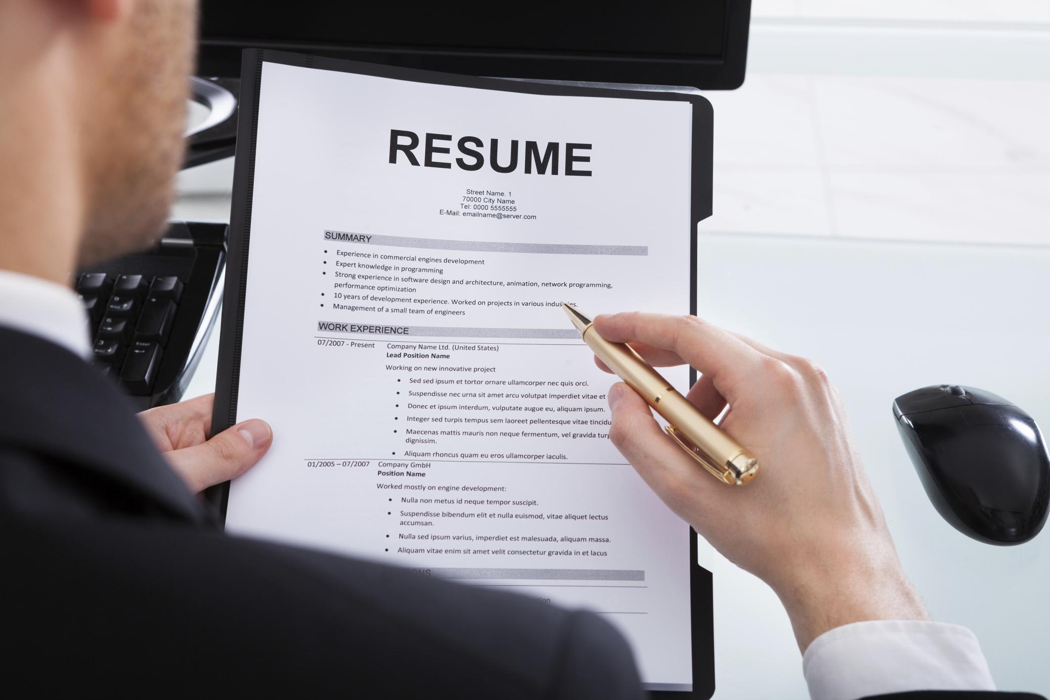 How To List Temp Jobs On A Resume Career Trend