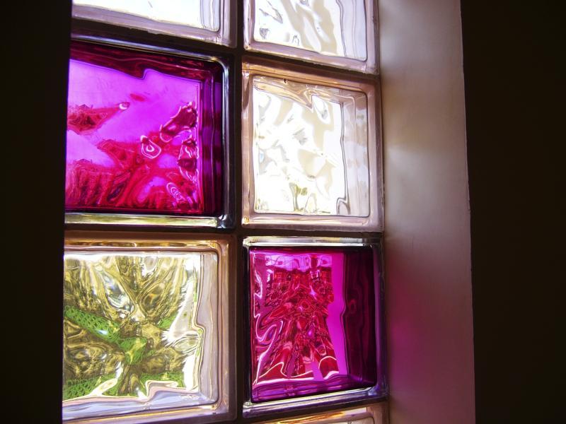 Decorating Glass Block Windows