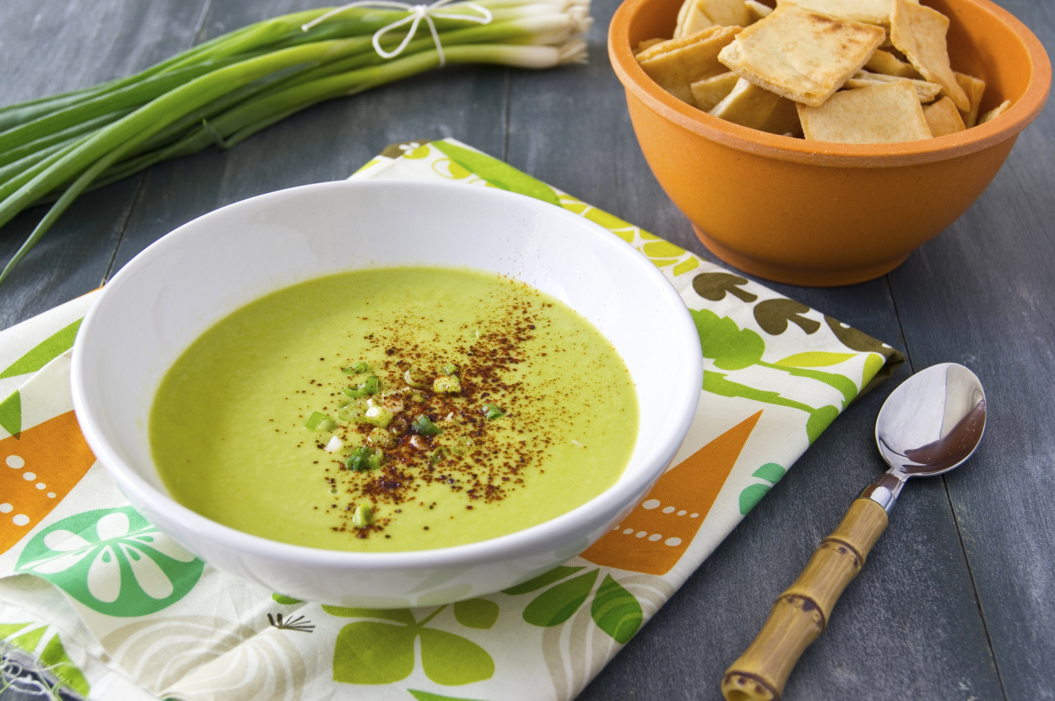 Caloric content of pea soup and ways of cooking