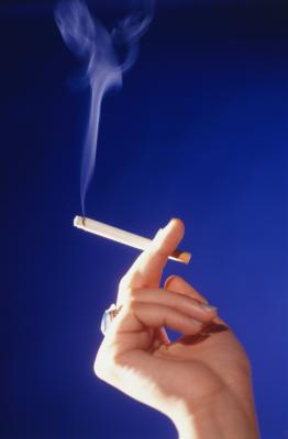 how to clean cigarette smoke off walls