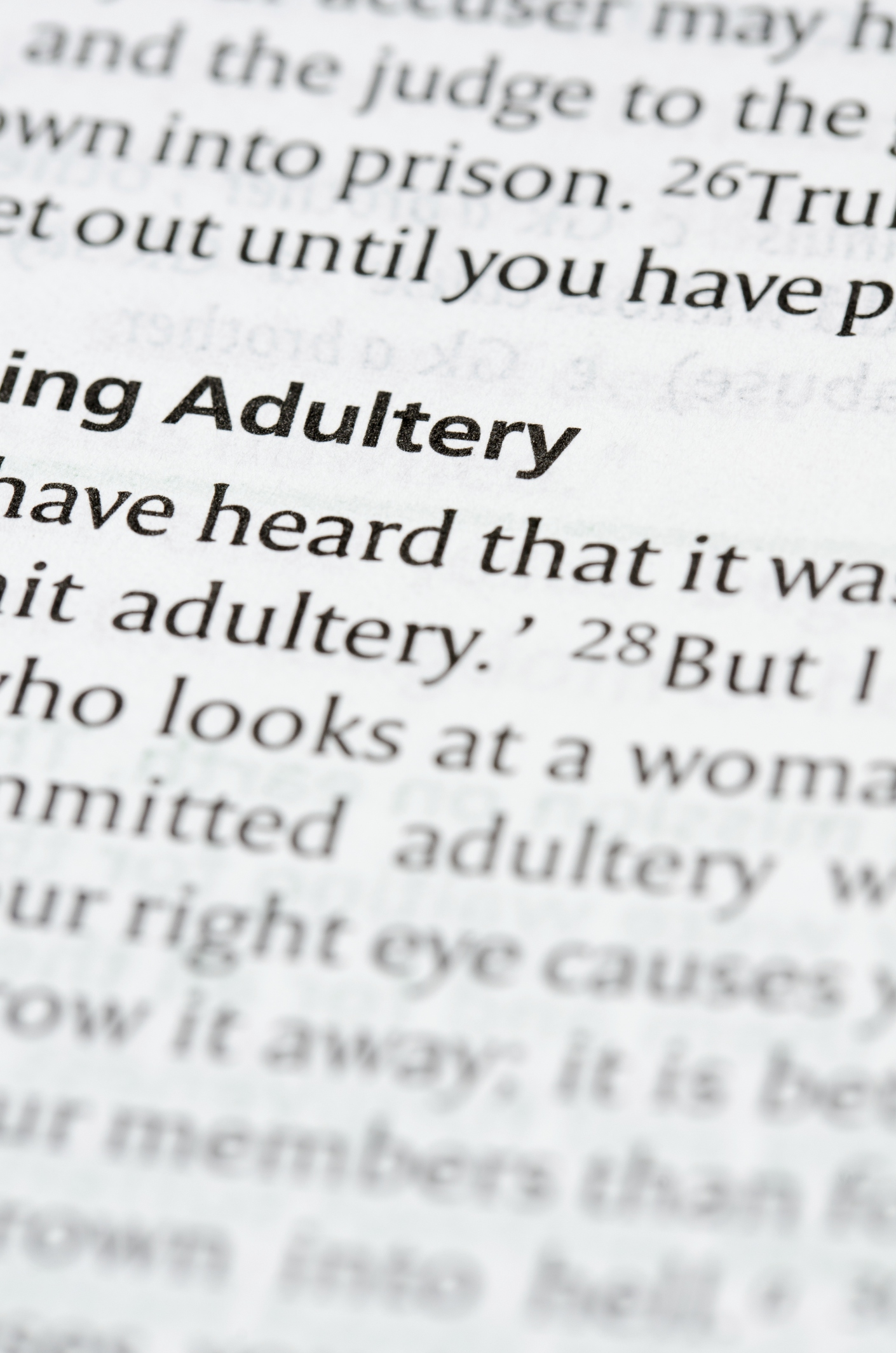 What Are the Consequences of Adultery?