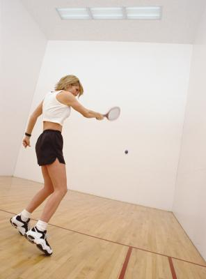 What Are the Benefits of Playing Racquetball? - Woman