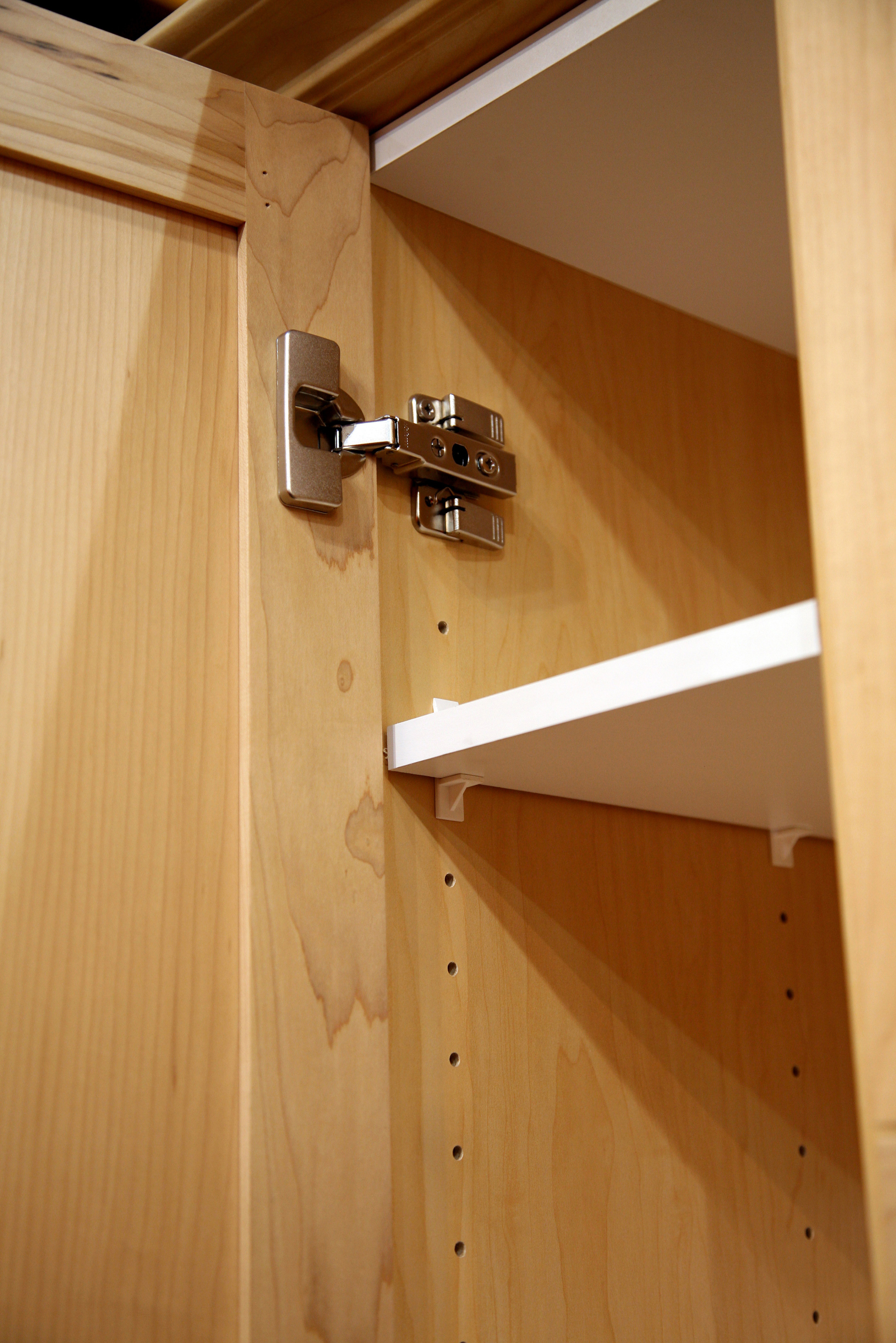 How To Build A Cabinet With Shelf Pegs Ehow