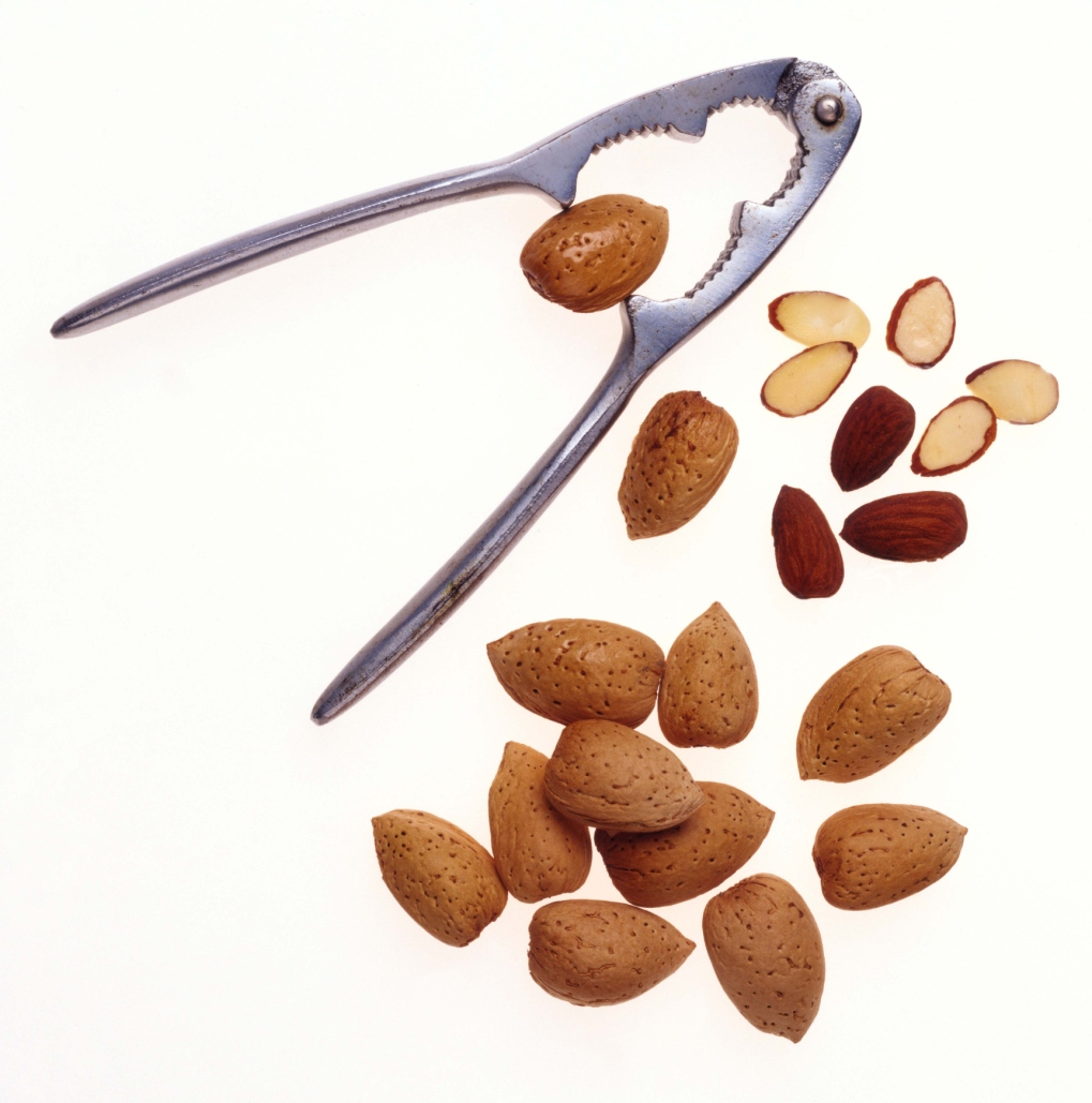 Mix a small amount of almonds with other nuts or dried fruit.