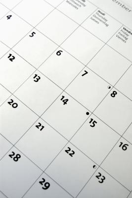 how to create a custom calendar in excel