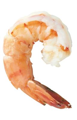 How to microwave cooked shrimp