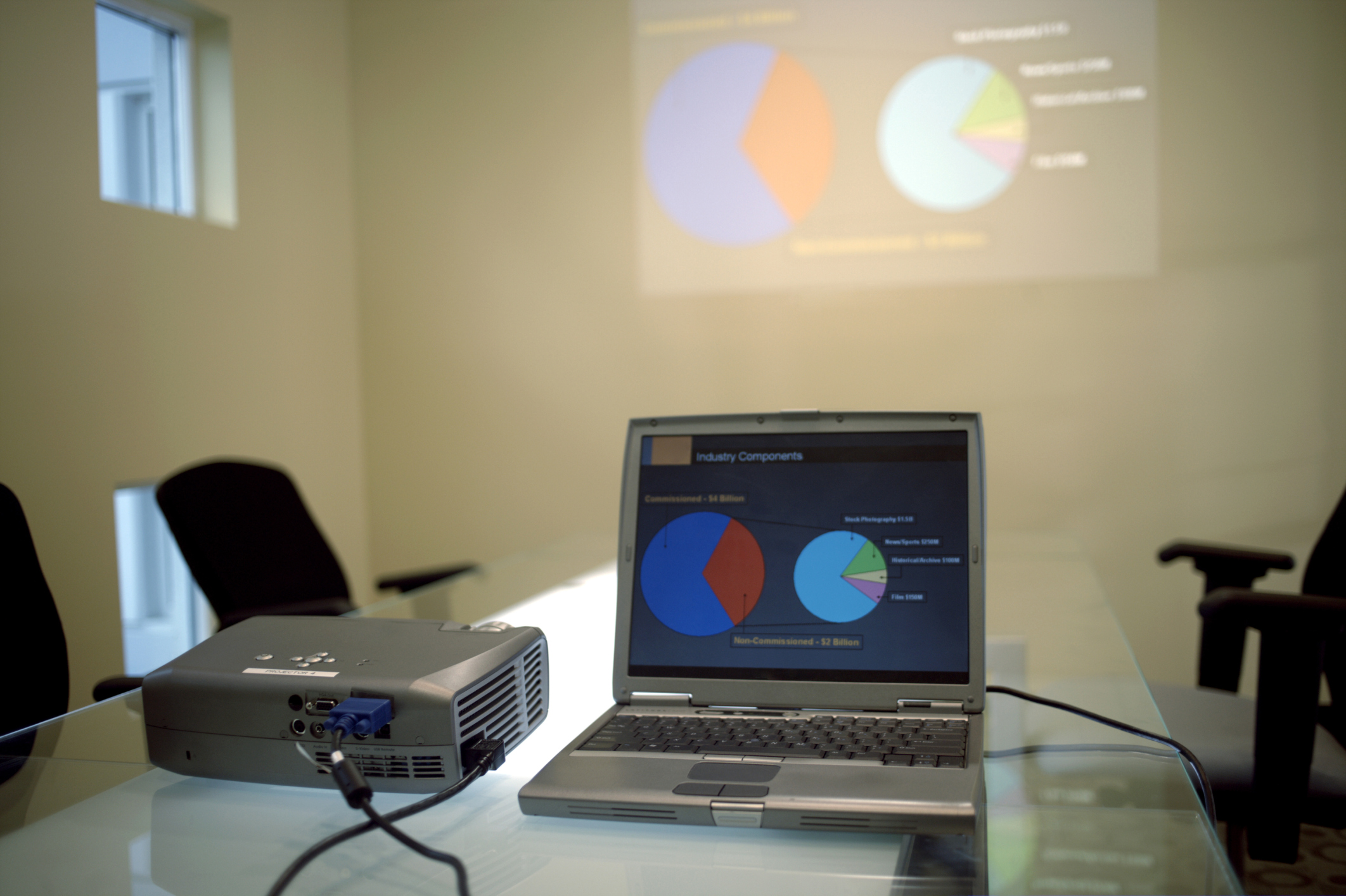 Why Does My Projector Screen Look Yellow? | Bizfluent