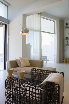 How To Hang Curtains Over Sliding Glass Doors Home