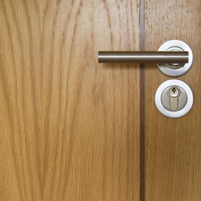 Removing Fingerprint Smudges From A Varnished Door Home