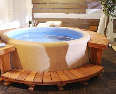 what are the benefits of salt water hot tubs. Black Bedroom Furniture Sets. Home Design Ideas