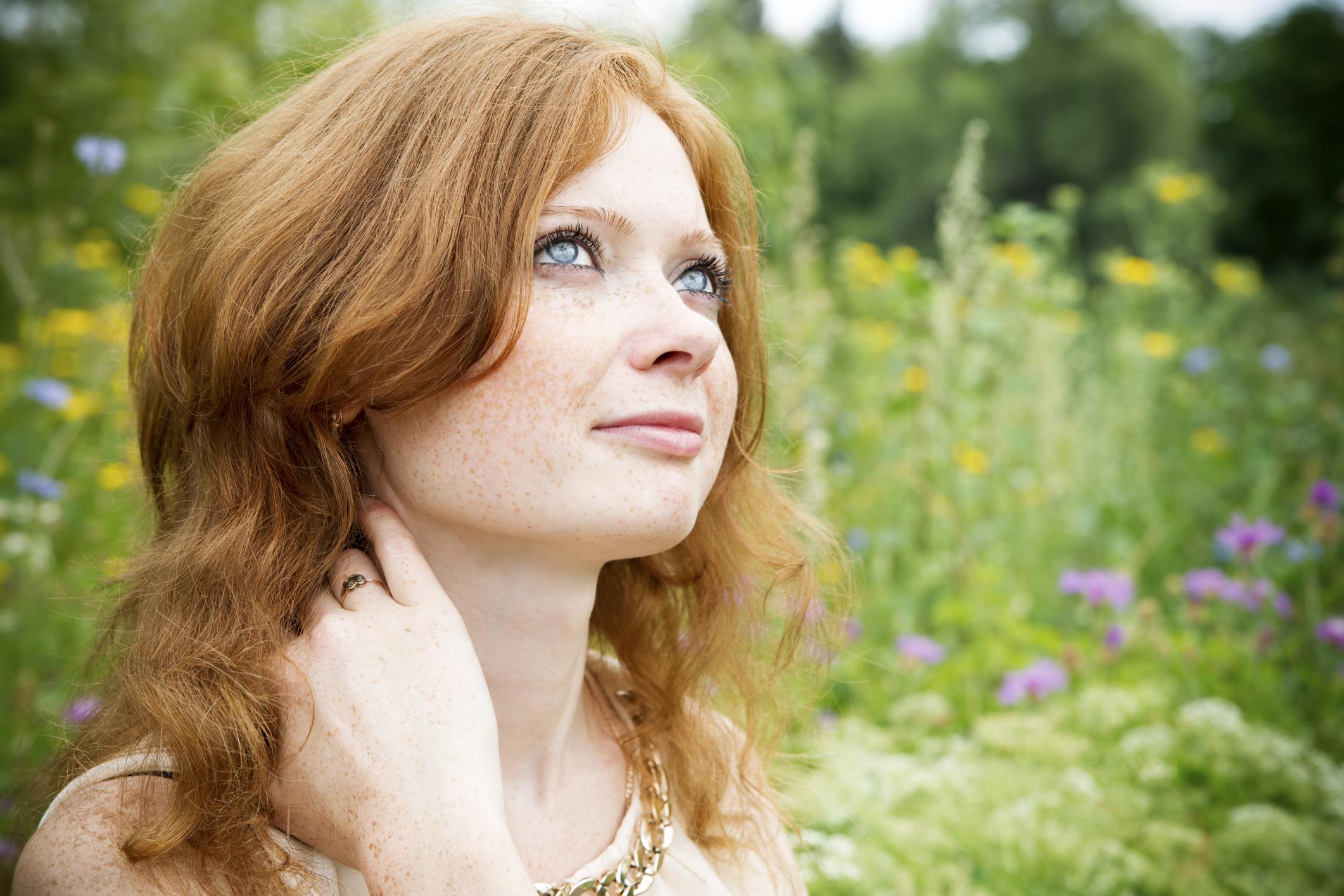 Skin Care Advice for Redheads   LIVESTRONG.COM