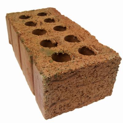 Mini tijolos de barro