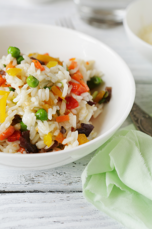 Vegetable Rice Calories