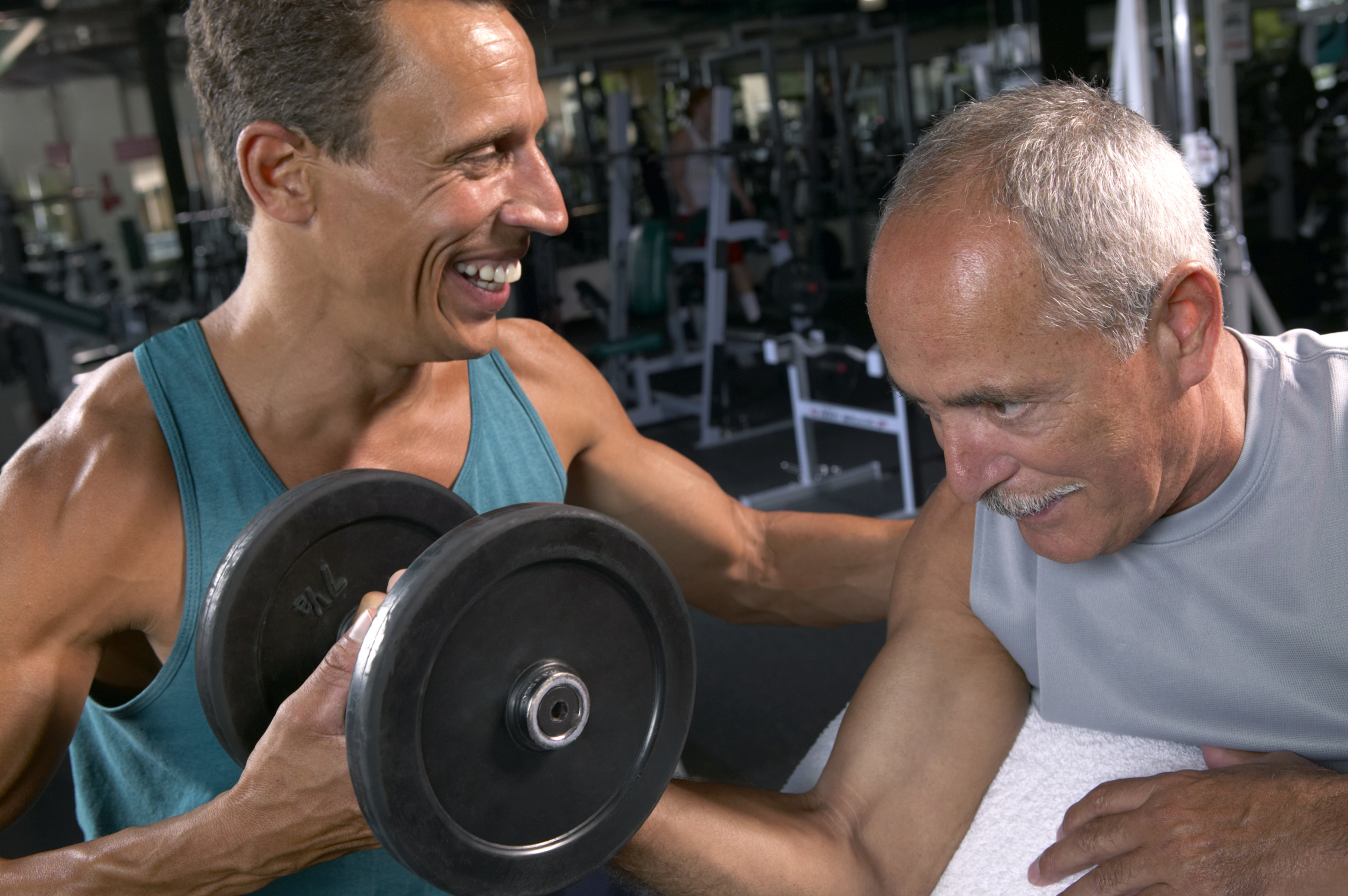 Weight training for men over 50