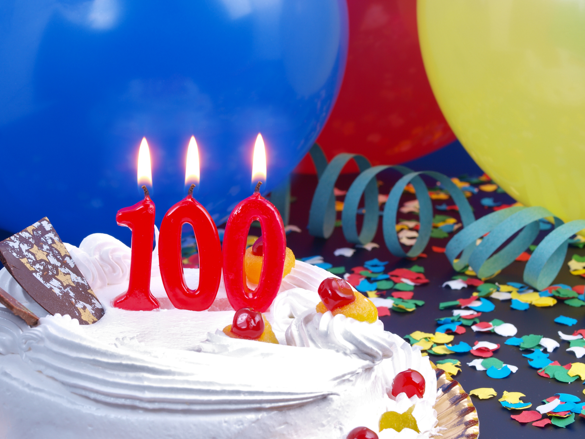 Birthday Ideas For Grandmas Turning 100 Years Old Livestrong