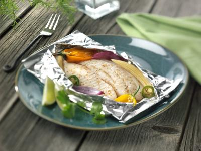 How to cook fish in foil packets in the oven livestrong com for How to cook tilapia fish