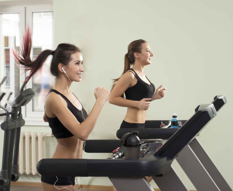 beginning treadmill running