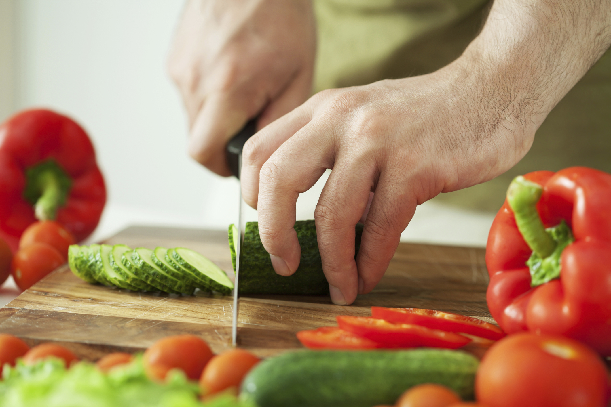 fancy ways to cut fresh vegetables livestrong com