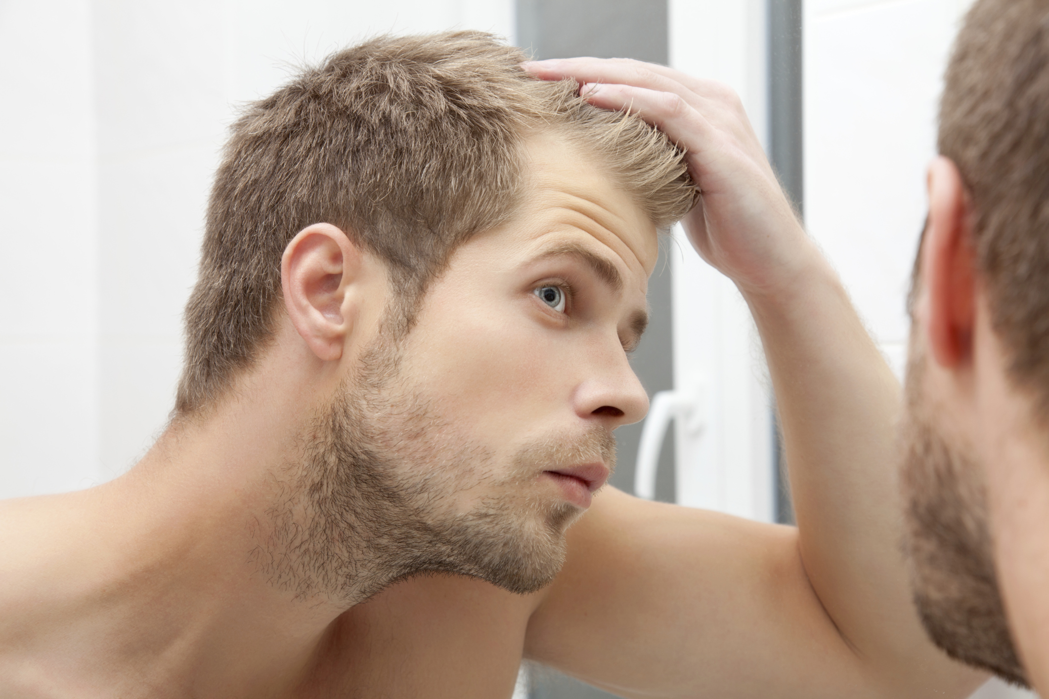 How to stop my hairline from receding